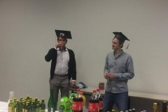 PhD Peter Sramel and Quentin Dherbassy 2017